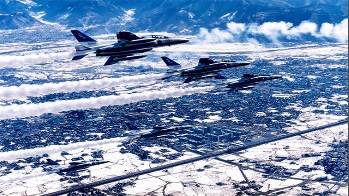 Tim Kebanggaan Udara Jepang Blue Impulse Akan Muncul di Pembukaan Olimpiade dan Paralimpiade