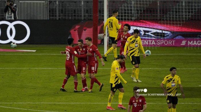 Lewandowski Ngamuk, Munchen Ulangi Sejarah 51 Tahun Silam, Dortmund & Haaland Alami Mimpi Buruk