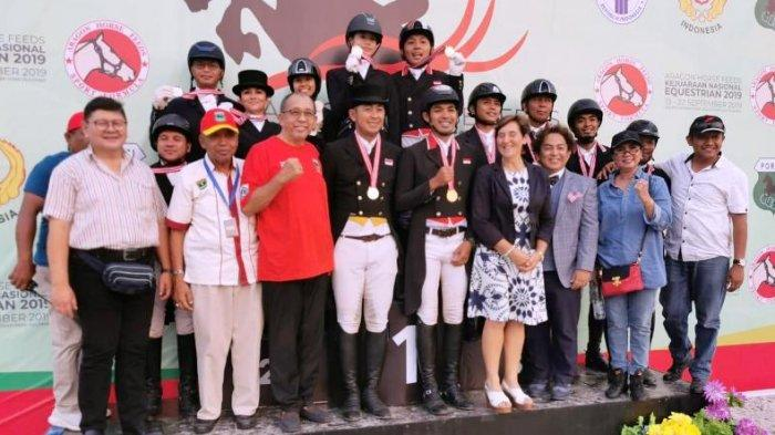 Tim Berkuda DKI Jaya Incar Gelar Juara Umum Kejurnas Equestrian 2019