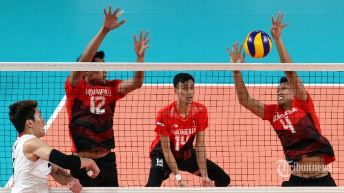 Klasemen Akhir Voli Putra SEA Games 2019, Indonesia Pastikan Satu Tiket ke Semifinal