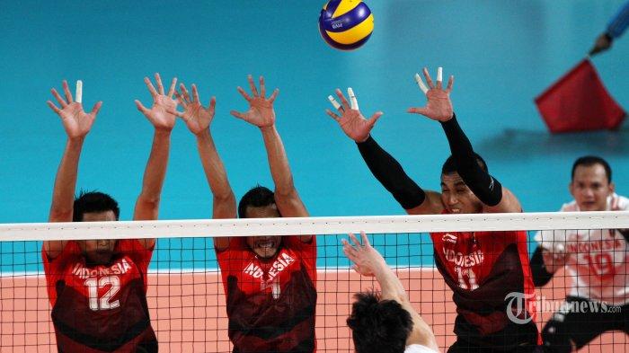 Daftar Pemain Timnas Voli Putra Indonesia dan Jadwal di Asian Sr. Mens Volleyball Championship 2019