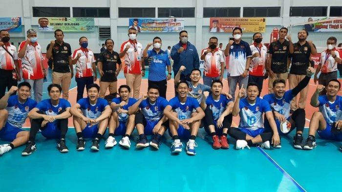 Tim Bola Voli Putra Jawa Barat Juarai Laga Ujicoba PON XX Papua
