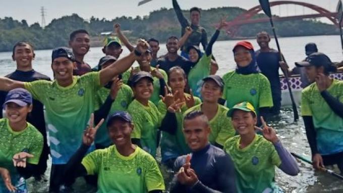 Update PON XX Papua 2021: Tim Dayung Jatim Adaptasi Cuaca, Usung Misi Bangkit Rebut Emas