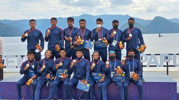 Impresif, Tim Dayung Putra dan Putri Jawa Barat Raih Medali Emas di TBR 200 Meter