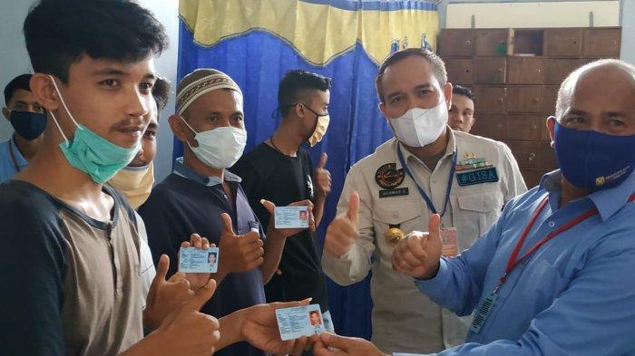 Libur Panjang, Dukcapil Jemput Bola di Lapas Rajabasa Bandar Lampung