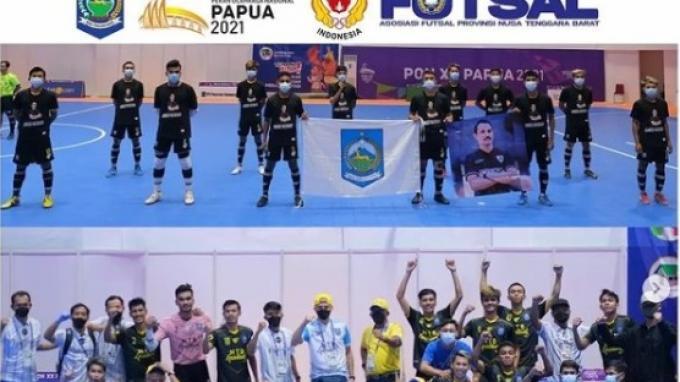 Hasil Klasemen Futsal PON XX Papua 2021: NTB Puncaki Grup A, Sulsel Unggul di Grup B