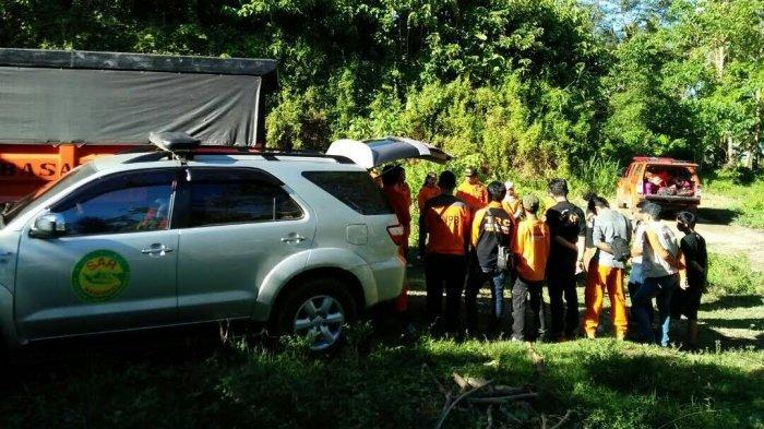 Waduh, Seorang Kakek Hilang di Kebun Sendiri, Petugas BPBD dan SAR Barru Dikerahkan