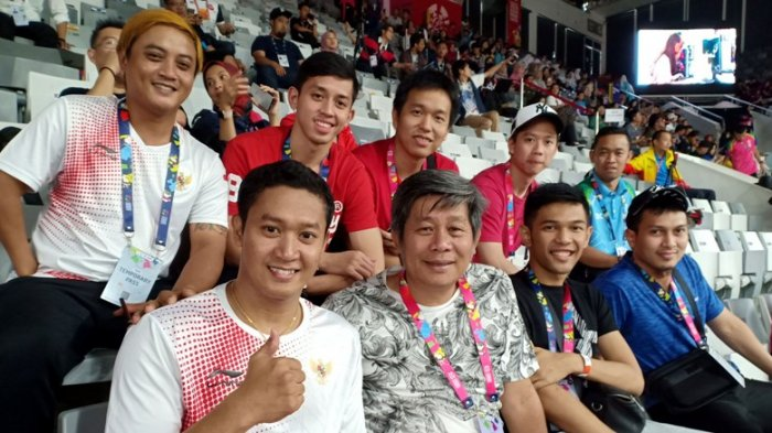 Kevin Sanjaya Sukamuljo Harapkan Kedatanga Tim Ganda Putra Indonesia Dapat Beri Motivasi