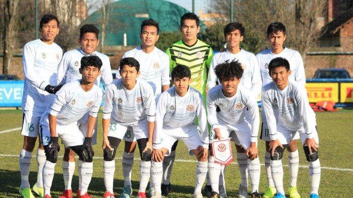 Tim Garuda Select lawan Inter U-17
