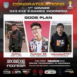 Turnamen 3x3 EXE E-games Indonesia Sukses Digelar, Rama Datau: Semoga Lebih Besar dan Jadi Industri
