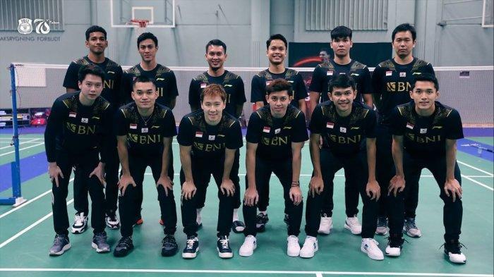 Jadwal Siaran Langsung Thomas Cup 2021 - Indonesia vs Thailand, Hari ini Mulai Pukul 18.30 WIB