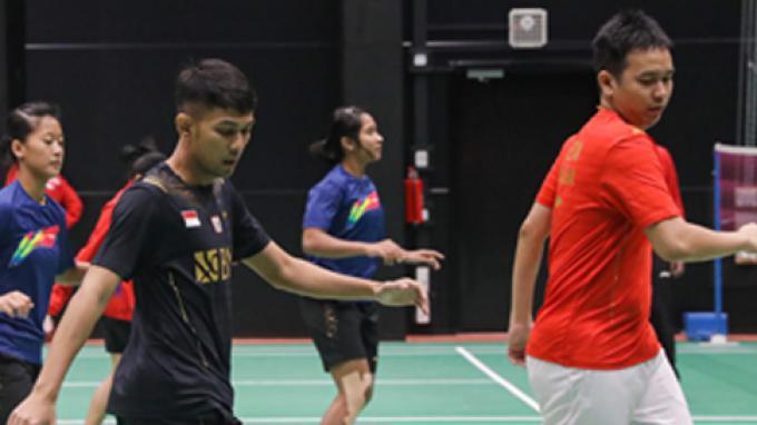 Update Piala Sudirman 2021: Tim Indonesia Latihan Hari Kedua untuk Pemulihan Kondisi
