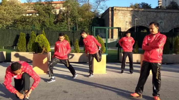 Tim Indonesia yang Berlaga di Kejuaraan Dunia Junior Bulutangkis Tiba di Spanyol