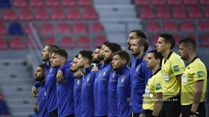 JADWAL EURO 2020 Grup A - Percaya Proses, Timnas Italia Tak Keburu Nafsu Pasang Target Juara