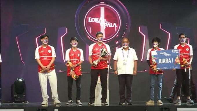 Laga Persahabatan Gim Lokapala PON XX Papua 2021 Dimenangkan Jeet Esports