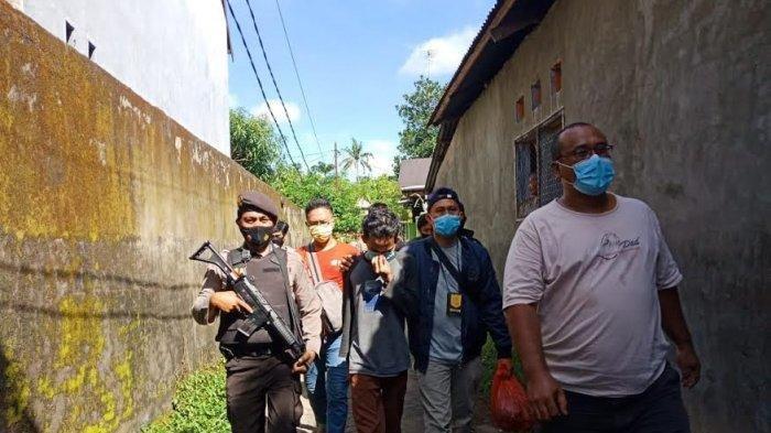 Tim Kejari Takalar bersama Kejati Sulsel dibantu Polres Takalar mengamankan seorang remaja berinisial F (18)