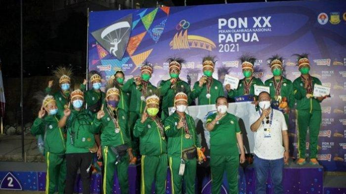Hasil Perolehan Medali PON Papua 2021 - Jawa Timur Raih Gelar Juara Umum Cabor Paralayang