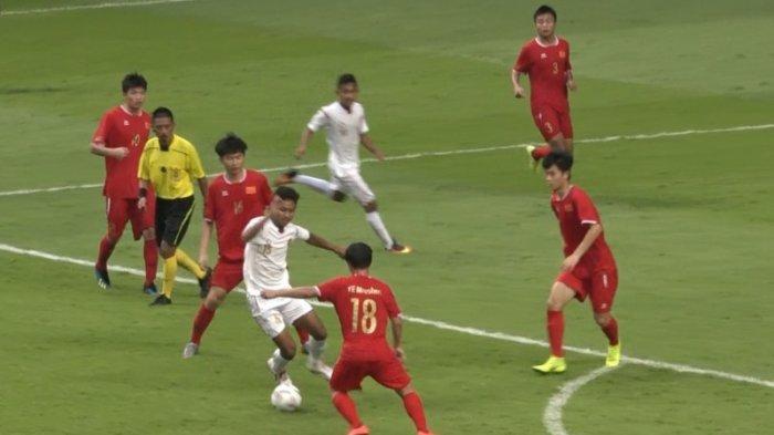 Tim Pelajar Indonesia U-18 Kalah dari China Tapi Tetap Tampil di Semifinal 47th ASFC