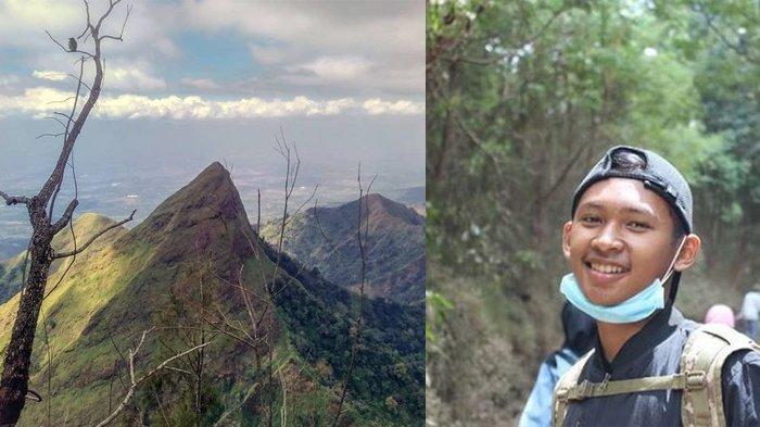 Foto Terakhir Thoriq Sebelum Ditemukan Tewas, Begini Ngerinya Jalur Gunung Piramid Saat Kabut Tiba
