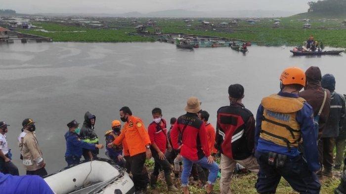 Seluruh Korban Tenggelam Akibat Perahu Terbalik di Waduk Cirata Ditemukan, Ini Identitasnya