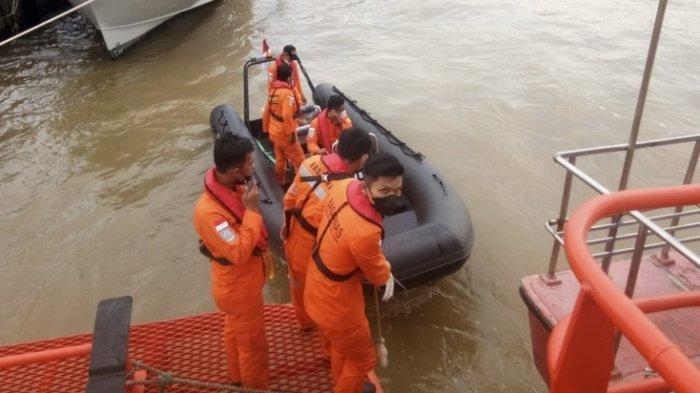 Warga Labuhanbatu Selatan Tercebur ke Laut saat Kunjungi Pelabuhan Ikan Bagan Asahan