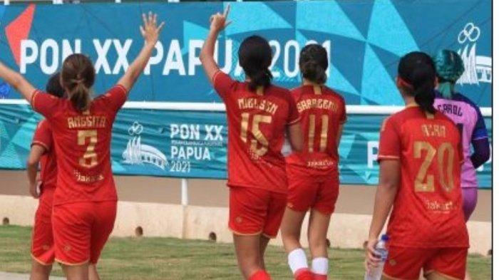 Tim Sepakbola Putri DKI Jakarta Incar Medali Perunggu