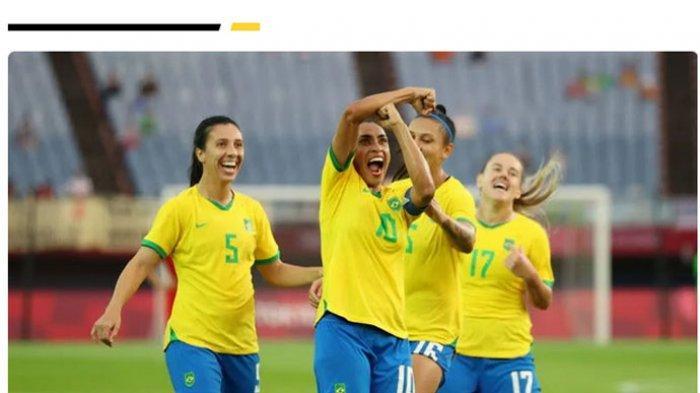 Olimpiade 2020, Rekor Fantastis di Cabor Sepakbola Wanita: Ada Skor 10-3, Pemain 43 Tahun Tampil