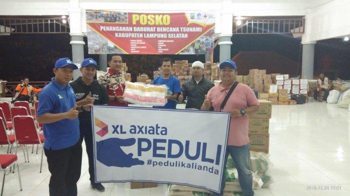 XL Bebaskan Nelpon Gratis Untuk Korban Tsunami