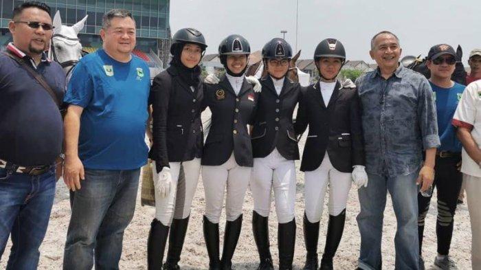 Kejurnas Equestrian 2020: Tim Sumbar Kirim Sinyal Ancaman untuk DKI