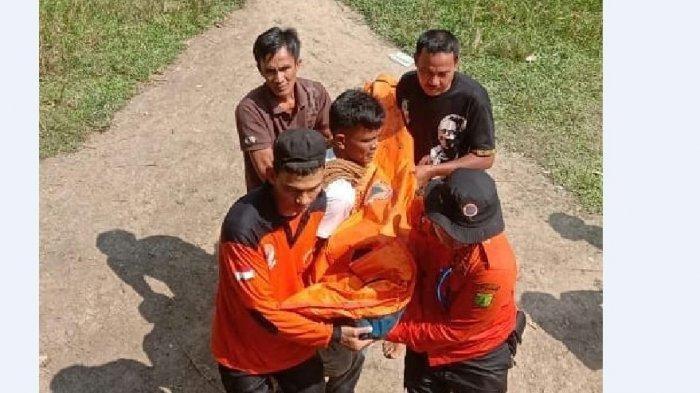 Rintoh Arahap Tewas Tenggelam Setelah Terpeleset Saat Mancing di Sungai Batanghari