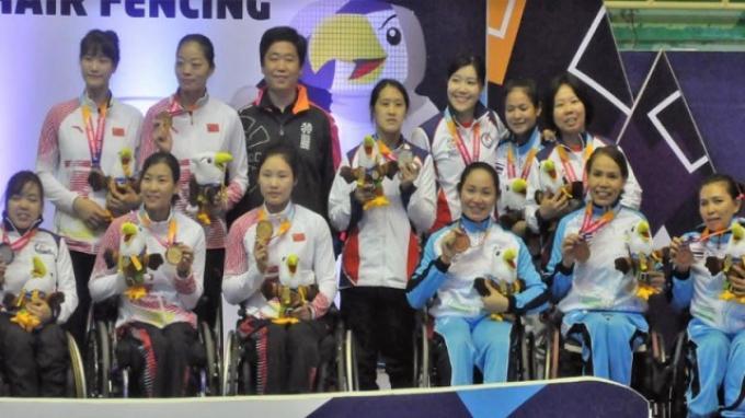 Tumbangkan Jepang di Laga Final, China Sukses Ulang Prestasinya di Asian Para Games 2018