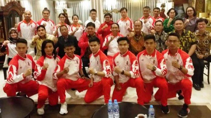 Tim Wushu Indonesia ke SEA Games 2019