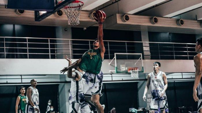 Timnas Basket Indonesia latiaaannnn