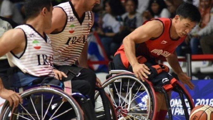 Tim Basket Kursi Roda Putra Indonesia Janji Bermain Totalitas