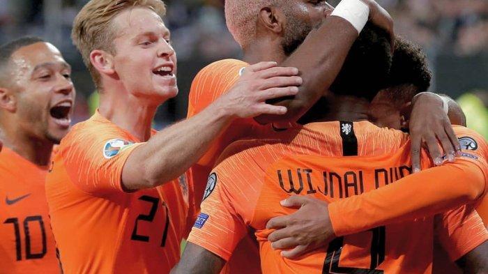 Live Streaming Mola TV Belanda vs Estonia di Kualifikasi Euro 2020, Pukul 02.45 WIB, Tonton di HP