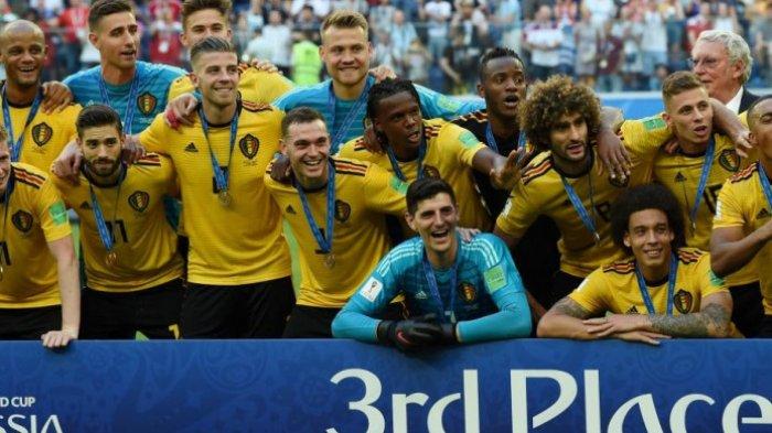 Juara Ketiga Piala Dunia 2018, Timnas Belgia Bawa Pulang Rp 345 Miliar