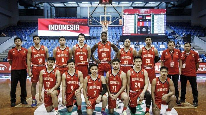 Timnas Bola Basket Indonesia Berjuang ke Posisi Tiga Grup A