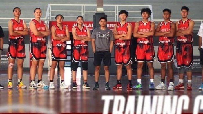 Inilah Timnas Bola Basket Junior Indonesia yang Dibentuk PP Perbasi ke FIBA 3x3 World Cup U-18