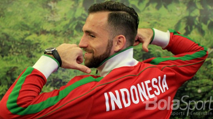 Luis Milla Isyaratkan Ilija Spasojevic Jadi Pilihan Utama Timnas Indonesia