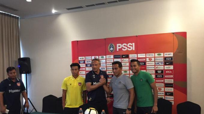 Pelatih Timnas Indonesia Senior Waspadai Organisasi Bertahan Myanmar