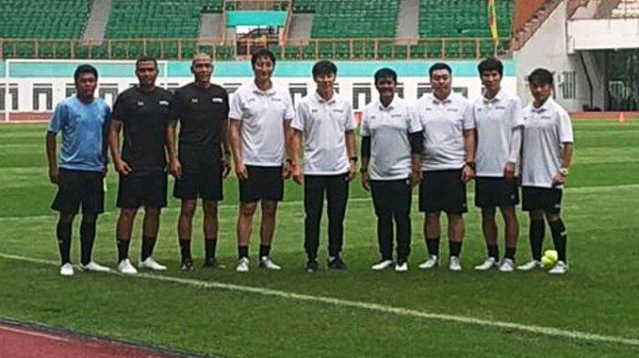 Timnas Indonesia U-19 Gelar Pelatnas Perdana Tim Pelatih Komplit Hadir Termasuk Shin Tae-yong