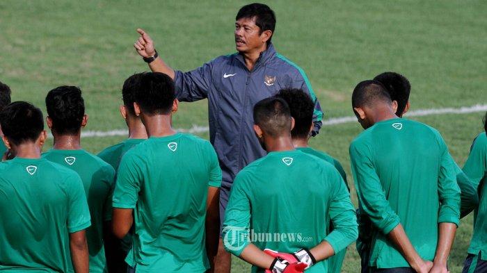 Timnas Indonesia U-19 Tak Ada Target di Turnamen Prancis kata Indra Sjafri