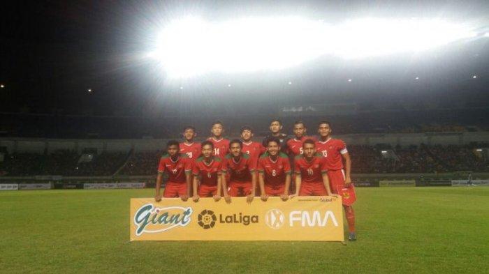 Timnas Indonesia U-19 Keok Lawan Espanyol, Skor 2-4