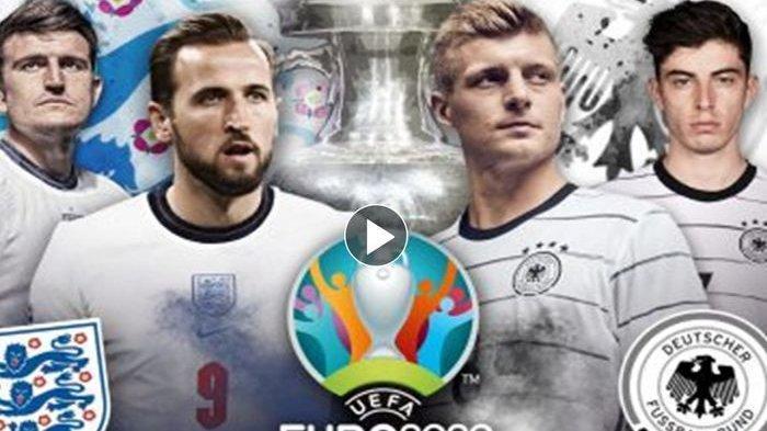 Jadwal 16 Besar EURO 2020, Inggris Diuntungkan, Jerman Dapat Kabar Jelek