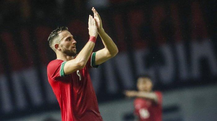 Debut Ilija Spasojevic di Timnas Indonesia tak Segemilang Cristian Gonzales