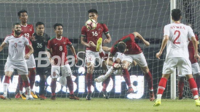 Kecepatan dan Agresivitas Pemain Timnas Indonesia Jadi Pembelajaran bagi Timnas U-23 Suriah