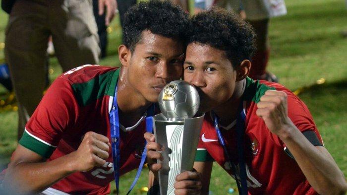 Bawa Timnas U-16 Indonesia Juara Piala AFF U-16 2018, Begini Kata Si Kembar Bagus dan Bagas