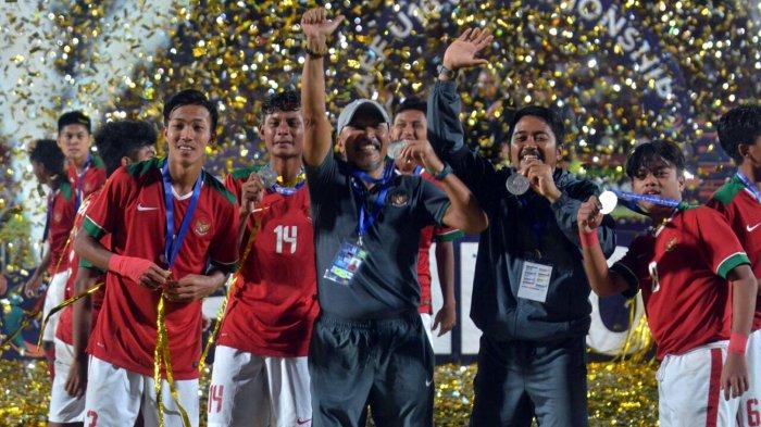 Sukses Juarai Piala AFF U-16 2018, Fakhri Husaini Tatap Piala Asia U-16 2018 di Malaysia