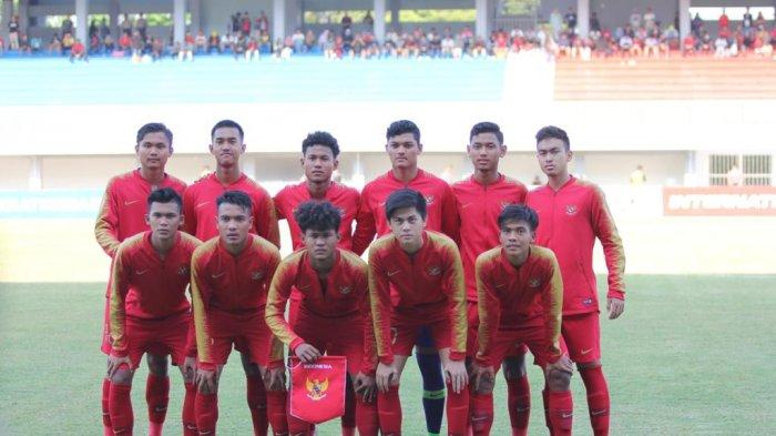 Live Streaming TV Online TVRI Timnas U-19 Indonesia VS China di Laga Uji Coba, Akses di Sini