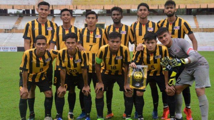 Kualifikasi Pial Asia U-19 2020 - Malaysia Menang 10-0, Thailand Kalah dari Kamboja